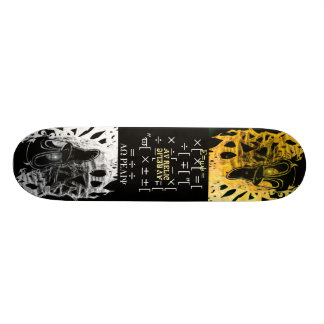 Fibonacci Sequence Skateboard Deck