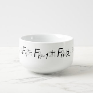 """Fibonacci Sequence"" - Soup Mug 1"