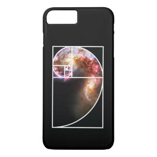 Fibonacci Spiral Galaxy iPhone 7 Plus Case