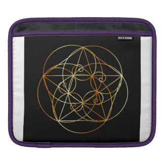 Fibonacci Spiral- The sacred geometry iPad Sleeve