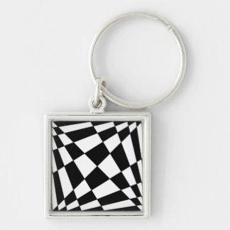 Fibonacci Squares Keychain - 1x1