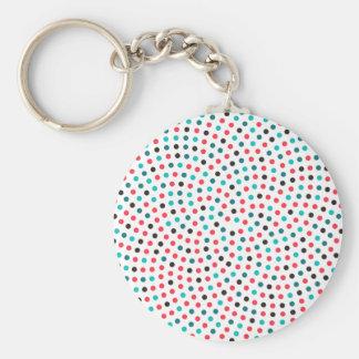 Fibonacci Sunflower Spiral - Melon Keychain