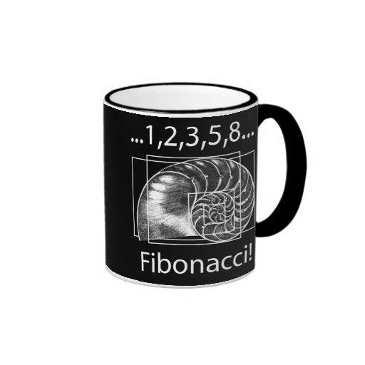 Fibonacci Tazas De Café