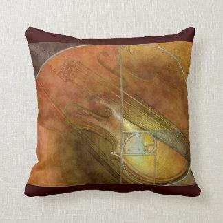 Fibonacci Violin American MoJo Pillow