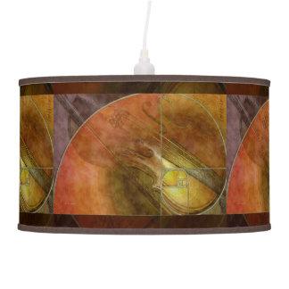 Fibonacci Violin Hanging Pendant Lamps