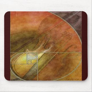Fibonacci Violin Mousepad