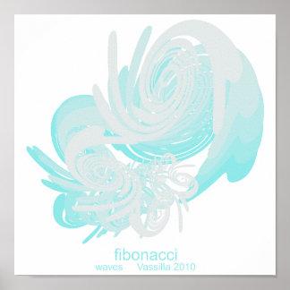 Fibonacci Waves Portfolio Poster