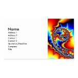 Fibonaccispikeral Double-Sided Standard Business Cards (Pack Of 100)