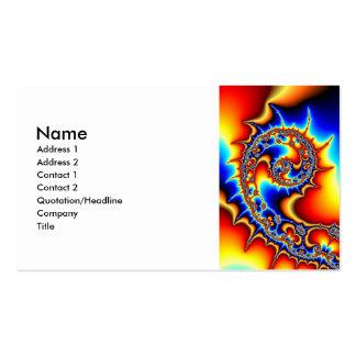 Fibonaccispikeral Business Card