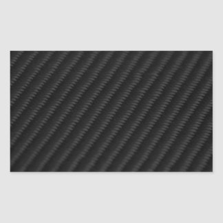 Fibra de carbono acentuada rectangular altavoz