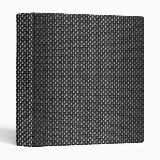 "Fibra de carbono altamente realista texturizada carpeta 1"""