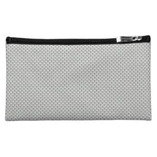 Fibra de carbono blanca y gris de Kevlar
