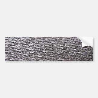 Fibra de carbono cruda texturizada pegatina para auto