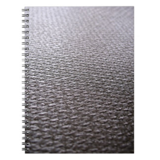 Fibra de carbono cruda texturizada libros de apuntes