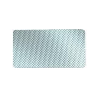 Fibra de carbono de color claro texturizada etiquetas de dirección