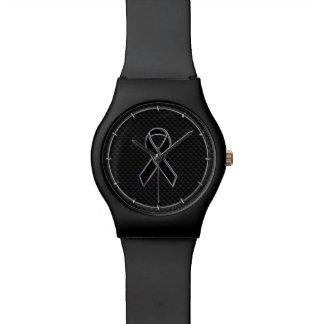 Fibra de carbono de la conciencia de la cinta del reloj