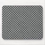 fibra de carbono doble de la armadura tapete de ratón