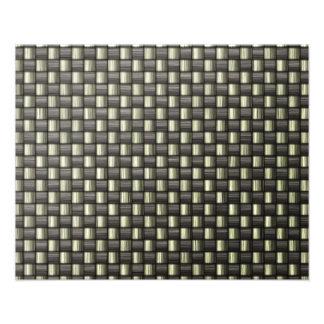 Fibra de carbono (falsa) arte fotografico