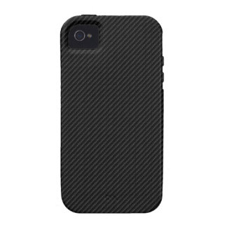 Fibra de carbono Case-Mate iPhone 4 fundas