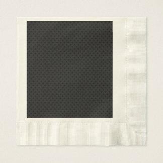 Fibra de carbono micro negra de Kevlar del Servilletas Desechables