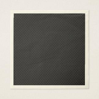 Fibra de carbono micro negra de Kevlar del Servilleta Desechable