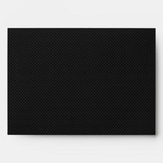 Fibra de carbono micro negra de Kevlar del Sobre
