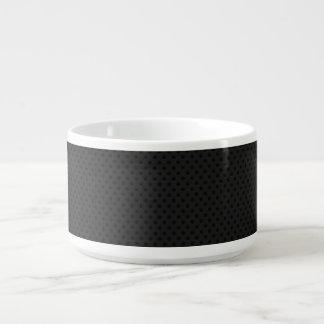 Fibra de carbono micro negra de Kevlar del Tazón