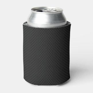 Fibra de carbono micro negra de Kevlar del Enfriador De Latas
