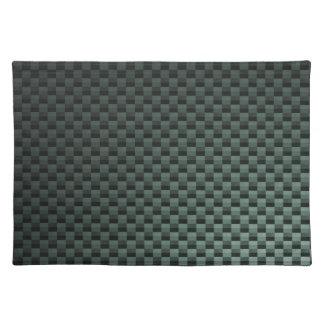Fibra de carbono modelada mantel