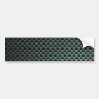 Fibra de carbono modelada pegatina para auto