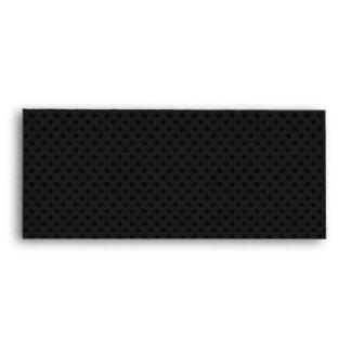 Fibra de carbono perforada negra de Kevlar del Sobres