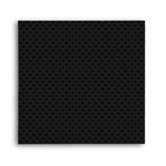 Fibra de carbono perforada negra de Kevlar Sobres