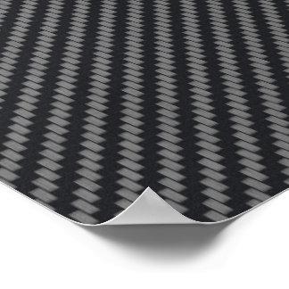 Fibra de carbono personalizada de Kevlar Impresiones