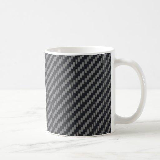 Fibra de carbono personalizada de Kevlar Taza De Café