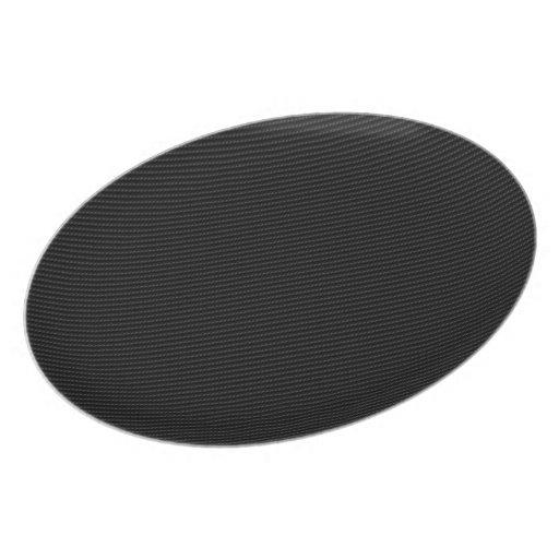 Fibra de carbono platos