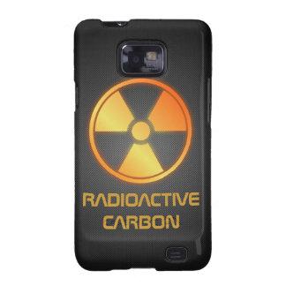 fibra de carbono radiactiva samsung galaxy s2 funda