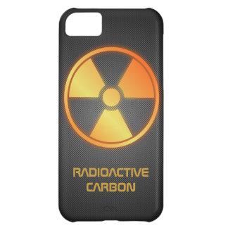 fibra de carbono radiactiva
