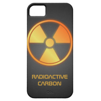 fibra de carbono radiactiva iPhone 5 Case-Mate cárcasa