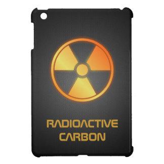 fibra de carbono radiactiva iPad mini funda