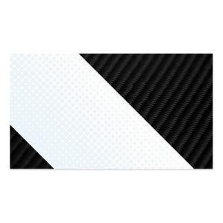 Fibra de carbono real y disposición texturizada to plantilla de tarjeta de negocio
