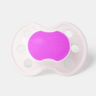 Fibra de carbono rosada chupete