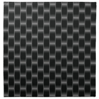 Fibra de carbono servilleta