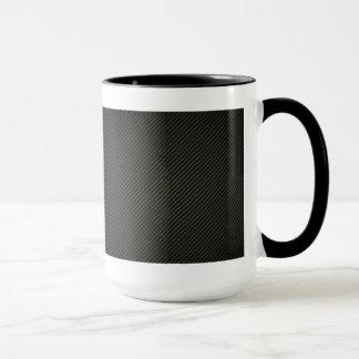 Fibra de carbono taza