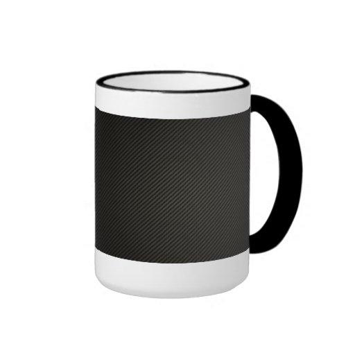 Fibra de carbono taza de café