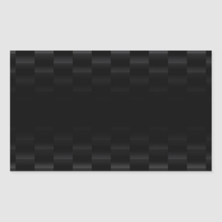 Fibra de carbono texturizada pegatina rectangular