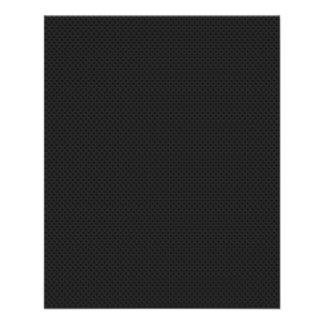 """Fibra micro negra del agujerito folleto 4.5"""" x 5.6"""""""
