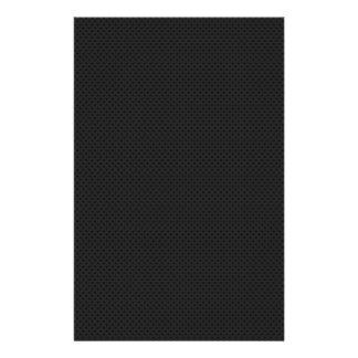 """Fibra micro negra del agujerito folleto 5.5"""" x 8.5"""""""