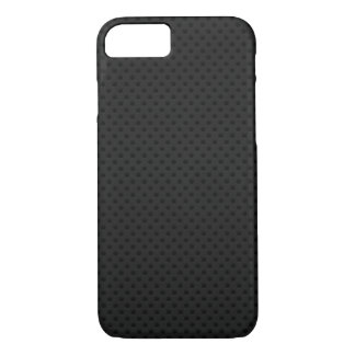 Fibra micro negra del agujerito funda iPhone 7