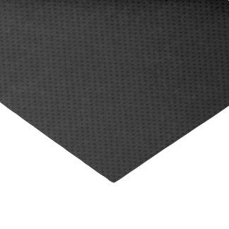 Fibra micro negra del agujerito papel de seda pequeño