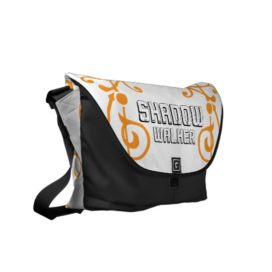 Fibril Ivory (Orange) Messenger Bag